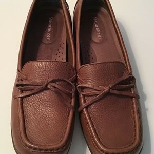 Naturalizer Briza Brown Leather Flat 7.5W